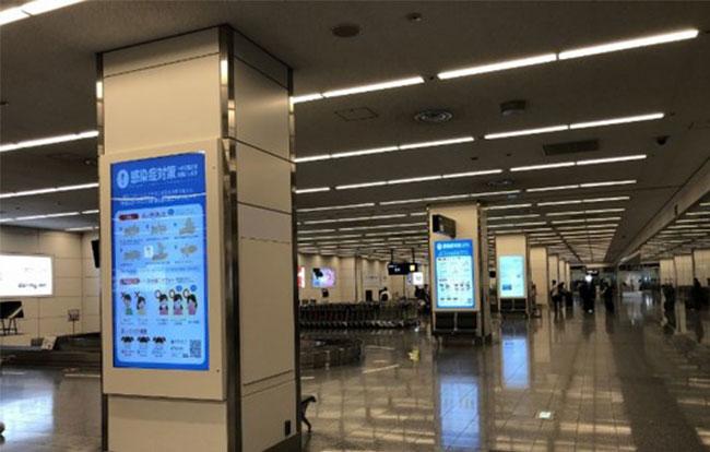 羽田空港 第2ターミナルバゲージクレームサイネージ
